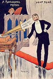 LEAP YEAR. A PHONOGRAPHIC PROPOSAL 1904