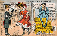 LEAP YEAR JOY AND SORROWS 1908
