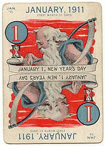 Leap Year Game Cards JANUARY 1911