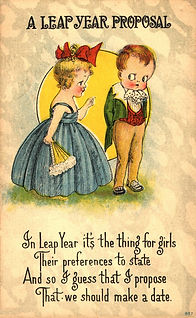 Bergman Kids A LEAP YEAR PROPOSAL