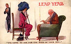"Fred Spurgin LEAP YEAR ""I've come to ask for the hand of your son."" 1912"