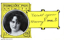 Will You Marry Me? LEAP YEAR 1908