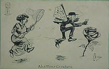 P. Crosby 1912 LEAP YEAR Alas Dear Creature