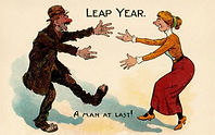 LEAP YEAR A Man At Last!