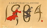 A LEAP YEAR VALENTINE 1904