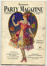 DENNISON'S  PARTY MAGAZINE 1928