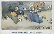LEAP YEAR LOOK OUT! IT'S UP TO YOU!