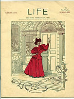 LIFE Magazine New York  February 20, 1896