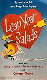 LEAP YEAR SALADS VALLEY GOLD NEW MEXICO'S LEADING DAIRY