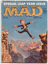 SPECIAL LEAP YEAR ISSUE  MAD  1960