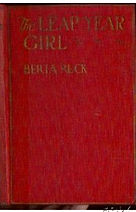 THE LEAP YEAR GIRL by Burta Ruck