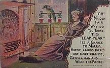 1908 'TIS LEAP YEAR