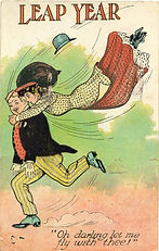 LEAP YEAR Oh Darling Let Me Fly With Thee 1908