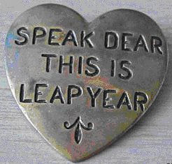 Speak Dear One Heart pin.