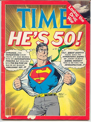 TIME Superman's 50th Birthday February 29, 1988