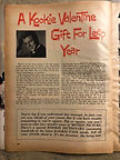 "MOTION PICTURE 1960 ""A Kookie Valentine Gift For Leap Year"""