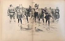 1892 Life Magazine Centerfold