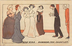 LEAP YEAR Running The Gauntlet 1908