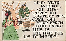 LEAP YEAR IS COME 1908