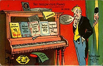 LEAP YEAR 1908 Try This On Your Piano