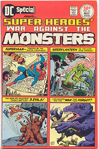 DC Special No. 21 MAY 19?? Super-Heroes' War Against The Monsters GREEN LANTERN VS. THE LEAP YEAR MENACE!