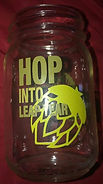 MARTIN HOUSE BEER GLASS HOP INTO LEAP YEAR