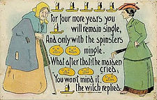 1908 Halloween Leap Year Spinster