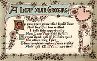 A LEAP YEAR GREETING
