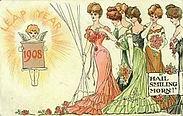 LEAP YEAR 1908 HAIL SMILING MORN!