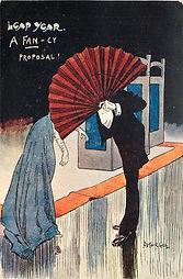 LEAP YEAR. A FAN-CY PROPOSAL! 1904