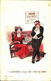 1912 LEAP YEAR I Wonder Will She Ask Me Now?
