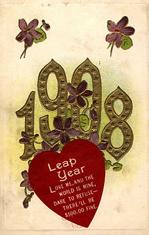 LEAP YEAR 1908