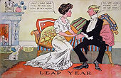 John, I have something to ask you. Don't be in a hurry.  LEAP YEAR 1908