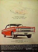 Leap Year Ad for Ford Comet 1964
