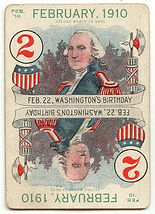 Leap Year Game Cards FEBRUARY 1910