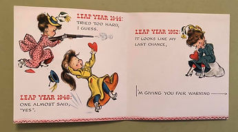 LEAP YEAR 1952 ...I'M GIVING YOU FAIR WARNING...