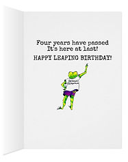 Happy Leaping Birthday