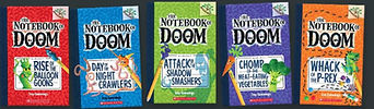 THE NOTEBOOK OF DOOM by Troy Cummings