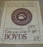 Leap Year ad for Gen you-wine Boyds Bears