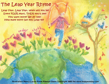 The Leap Year Rhyme