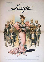Judge Magazine 1896 A LEAP YEAR EPISODE