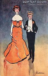 "LEAP YEAR GOODS ""GREAT SACRIFICE"" 1904"
