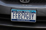 Leap Year Day license plates.