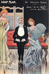 LEAP YEAR. AN IMPENDING PROPOSAL 1904