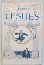 LESLIE'S THE PEOPLE'S PAPER FEBRUARY 29, 1912