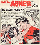 Leap Year ad for Cream of Wheat by Li'l Abner Al Capp