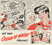Leap Year ad for Cream of Wheat with Li'l Abner Al Capp