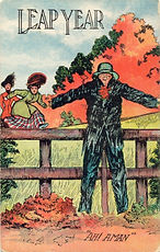 "LEAP YEAR ""Ah! A Man"" 1908"