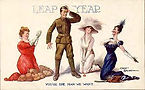 Fred Spurgin LEAP YEAR Your The Man We Want 1912