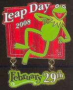 Kermit Leap Day 2008 February 29th
